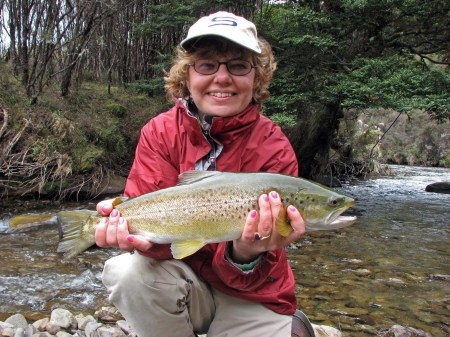Spring Brown Trout Fishing in New Zealand