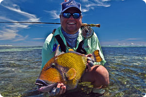 Triggerfish offer a flats fishing challange on Farquhar