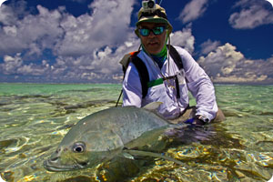 A small GT is still a Giant Trevally!!!