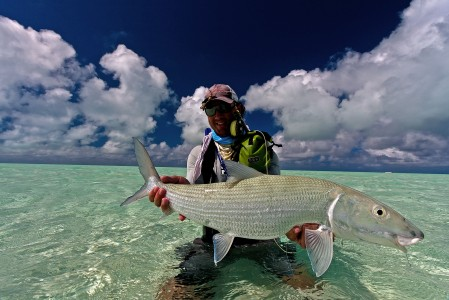 Nice Bonefish from St. Brandon's Atoll