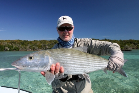 Huge Bonefish fooled by #2 Simram