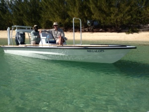 North Riding Point Club's New Hells Bay Marquesa Skiff